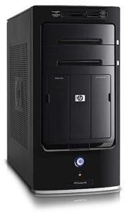hp media center pc with ubuntu