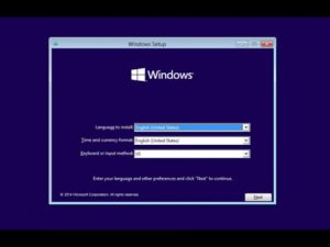 ntfs reinstall windows 10