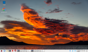 new raspbian desktop