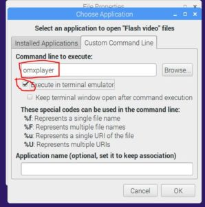 Set All Video Files to Auto-Open With Omxplayer – Raspberry